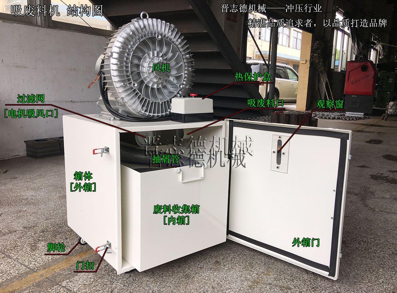 冲床吸废料机结构,冲床吸废料机构造